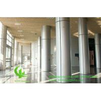China 3mm Metal Aluminium Cladding Panels Powder Coated For Facade Curtain Wall Column wholesale