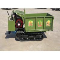 China Diesel Engine 0.8 Ton 45 Degree Small Tracked Dumper wholesale