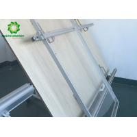 China Aluminum Rooftop PV Mounting Systems / Solar Panel Roof Fixing Brackets wholesale
