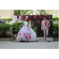 China 2021 new year wholesale 3d lenticular printing wedding photos with depth 3d moving effects by UV flabed printer wholesale