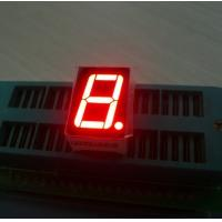 China Ultra red 14.2mm Single Digit 7 Segment Led Display common anode For Digital Indicator wholesale