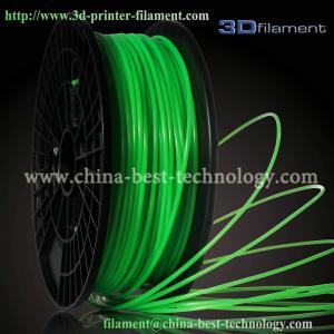 China 3D Printer Filament PLA 1.75mm Fluorescent Green wholesale