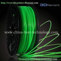 Buy cheap 3D Printer Filament PLA 1.75mm Fluorescent Green from wholesalers