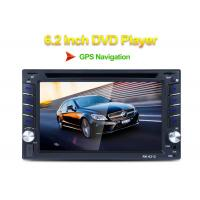 China Front USB 2.0 Port Double Din Car Stereo Dvd Player IR Remote Control on sale
