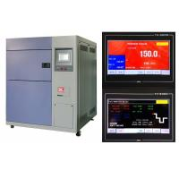 China Rapid Rate High / Low Temperature Test Chamber Air / Water Cooling Type wholesale