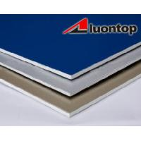 China Safety Aluminium External Wall Cladding Panels With High Peeling Strength wholesale