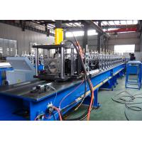 China Non - Stop Cutting Pallet Rack Roll Forming Machine 1.5 - 2.5mm Thickness Material Usage wholesale
