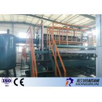 China Waste Paper Egg Tray Machine With Diesl / Gas Fuel Drying line 4000PCS / Hour wholesale