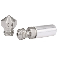 China Stainless Steel MK10 All Metal Hotend Upgrade Kit 1.75mm 0.4mm Nozzle wholesale