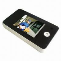 China LCD Peephole Viewer in Silver Color, OEM Orders are Welcome wholesale