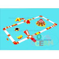 China Plato 0.9 PVC Floating Inflatable Water Park Summer Beach Amusement CE wholesale