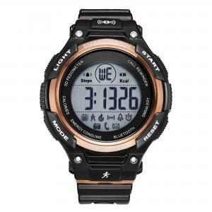 Buy cheap Men's Silicone Wrist Watch ,Bluetooth Smart Watch , Luxury Waterproof SmartWatch from wholesalers