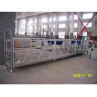 China Steel Aerial Lifting Powered Suspended Platform Cradle 800 Rated Load wholesale