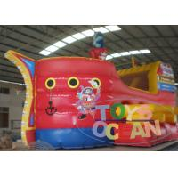 China Commercial Giant Inflatable Slides Pirate Ship Children Water Slide For Park wholesale