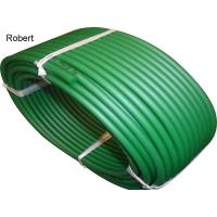 Rough Polyurethane Round Conveyor Belt For Food Industry Light Green / Dark Green