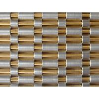 Opaque Woven Wire Fabric 39 Channel 39 Decorative Metal Mesh Elevator Curtain Wall Cladding Of Item