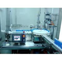 China Mosquito Liquid Spray Aerosol Filling Machine And Can Sealing Machine With PLC Control on sale
