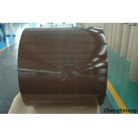 China Office Furniture Color Coated Galvanized Sheet , Anti Static Colour Coated Steel Sheets wholesale
