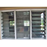 China Waterproof Adjustable Glass Shutter Window Soundproof  With Aluminum Frame wholesale