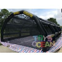 Quality Inflatable Sport Batting Cage Baseball Tee Hitting Stations Adult Inflatable for sale