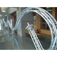 China Shape Display Circle Aluminum Truss For Exhibition Stand wholesale