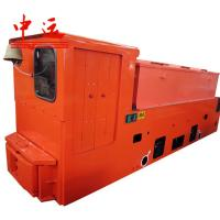 China 25T Battery Locomotive For Subway Tunneling Match With TBM wholesale
