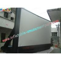 China Portable Outdoor Inflatable Movie Screen Rental / Movie Theater Screen wholesale