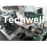 China Round Rainspout Roll Forming Machine for Rainwater Downpipe, Downspout Drainage wholesale