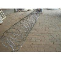 China Hot Dipped Galvanized Razor Barbed Wire For Fence , Electric Barbed Wire Fence wholesale
