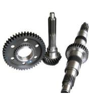 China Small Rack and Pinion Gears with Iron or Steel on sale