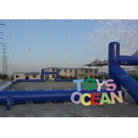 China Netball Pitch Inflatable Rugby Pitch For Outdoor Competition Team Sports wholesale