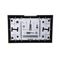 China 4x high resolution test chart for cctv camera 2000 lines wholesale