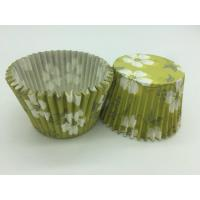 China Green White Flower Greaseproof Cupcake Liners Disposable Mini Baking Tools Cake Decoration wholesale