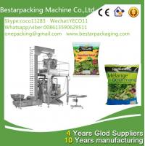 China Automatic Fresh vegetables Packing Machine with metal detector machine & Nitrogen making machine wholesale