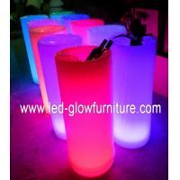 China Modern unique illuminated ice bucket / container for bar , night clubs , weddings wholesale