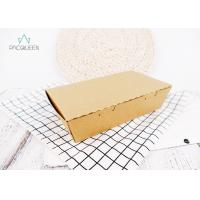 Buy cheap Integrated Structure Kraft Take Out Boxes Easily Open And Seal For Frozen Pizza from wholesalers