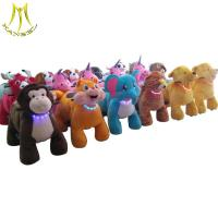 China Hansel  commercial walking animal toy ride electric animal mountables wholesale