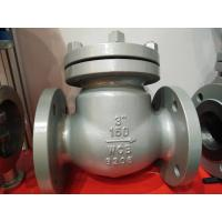 "China API 600 Carbon Steel 150LB 3"" Swing ANSI Flanged Check Valve WCB Check Valve wholesale"