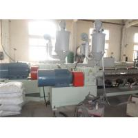 China WPC Free Foam Board Machine , PVC Wood Composite Sheet Twin Screw Extruder Machine wholesale