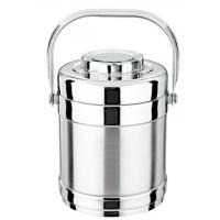 China 1.2 / 2 L Stainless Steel Food Container Hand Pan with SS # 201 wholesale