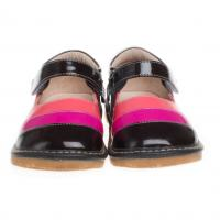 fancy leather squeaky baby shoe SQ-A11305CF