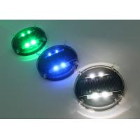China Waterproof Solar Road Markers / Flashing Marker Lights With Li-on Battery wholesale