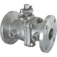 China Heat Preservation Jacket Insulation floating type ball valve With Lever Operator wholesale