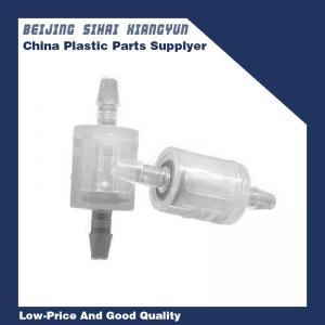 China 1/8 Fuel Line Tube Spring one way valve , PP Sink Shutoff Valves wholesale