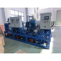 China Marine power plant automatic control Manual / Auto Discharge Centrifugal Oil Separator Unit wholesale