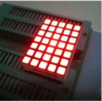 China Waterproof 5x7 Dot Matrix Led Display Square with High brightness wholesale