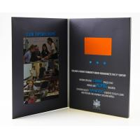China Lcd brochures 7 inch paper business card lcd video invitation/lcd greeting card/video brochure on sale