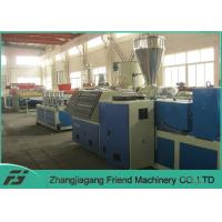 China No Deformation WPC Board Production Line Wpc Door Machine 1240mm Board Width wholesale
