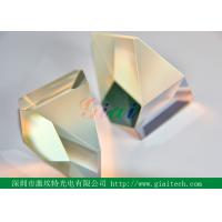 Quality CaF2 ZnSe 40 - 20 high precision Prism Optical glass Uncoated for sale