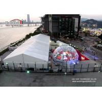 Quality 15m x 40m Waterproof Luxury Wedding Tent with Air Conditioner , Marquee with decoration for sale